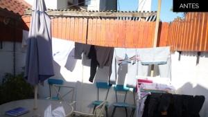 CCobertizo de Madera | Antes